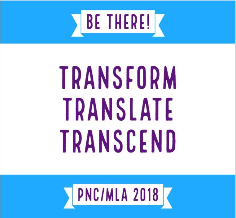 Logo and slogan. Transform. Translate. Transcend.